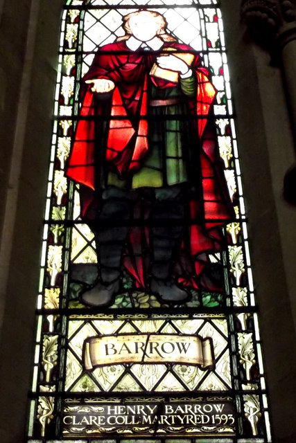 Henry Barrow, martyred 1593