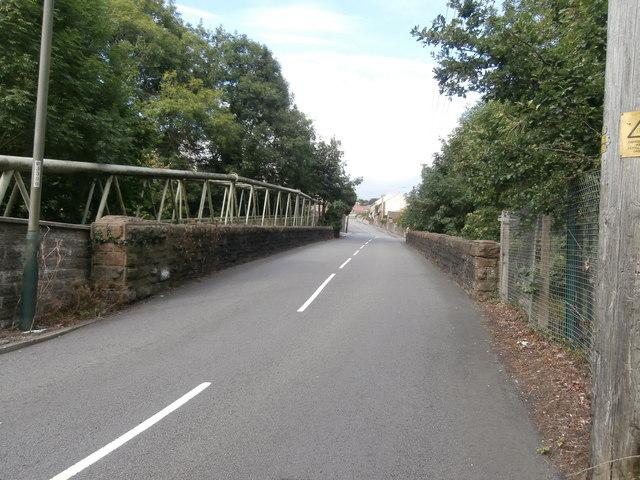 Bridge over the Rhymney Valley Ridgeway Footpath