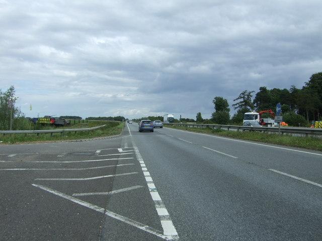 A11 towards Norwich