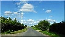 TF2065 : Reeds Beck road junction by Steve  Fareham