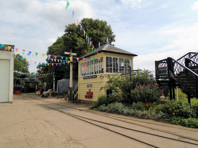 Signal Box at Fawley Hill