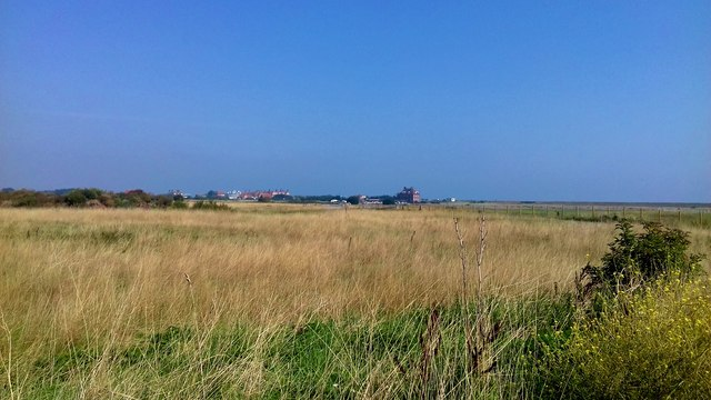 Sandwich Bay Estate seen from near Mary Bax's Stone