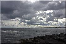 NU2438 : Longstone Island looking south west by Robert Eva