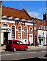 SY4692 : HSBC UK, Bridport by Jaggery