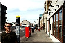 TQ3382 : View up Shoreditch High Street from the junction with Redchurch Street by Robert Lamb