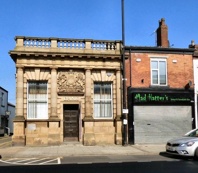 Former Bank on Elliot Street