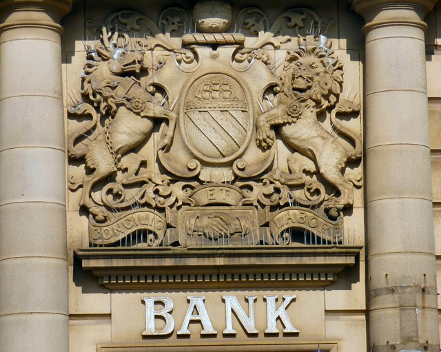Union Bank of Manchester coat of arms