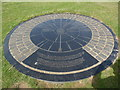 TV5995 : Compass Rose feature at Beachy Head by David Hillas