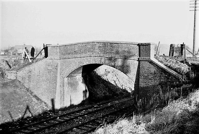 Old Railway Bridge near Green Road Didcot