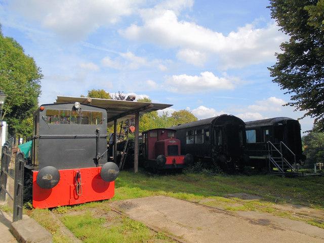 Engines at Fawley Hill