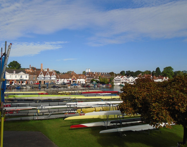 Boats at Leander Club