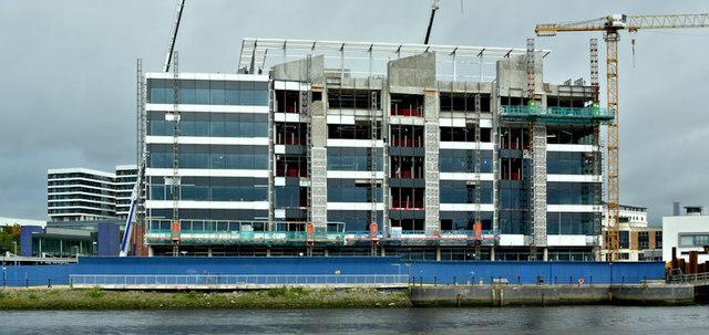 The Allstate Maysfields site, Belfast (August 2017)