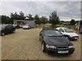 TL8194 : Car sales near Ickburgh by Hugh Venables