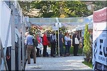 NT2473 : Queue at the Edinburgh International Book Festival 2017 by Jim Barton