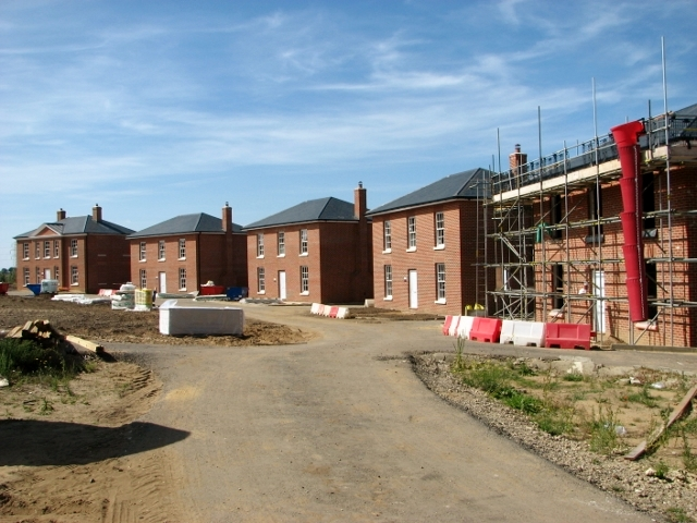 Construction of new housing at St George's Park