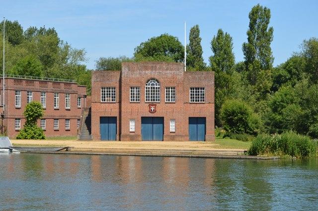 Oxford University Boathouse