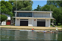 SP5105 : Oxford University Boathouse by N Chadwick