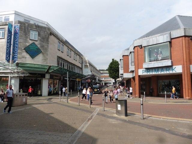 Shopping Centre, Swansea