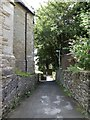 SD6279 : Path from the church to the main road by Basher Eyre