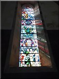 SD6279 : Holy Trinity, Casterton: stained glass window (III) by Basher Eyre