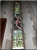 SD6279 : Holy Trinity, Casterton: stained glass window (VII) by Basher Eyre