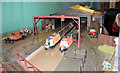 SP9315 : Model of Canal Wharf at Pitstone Green Museum by Chris Reynolds