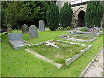 SD4964 : St Wilfrid, Halton: churchyard (4) by Basher Eyre