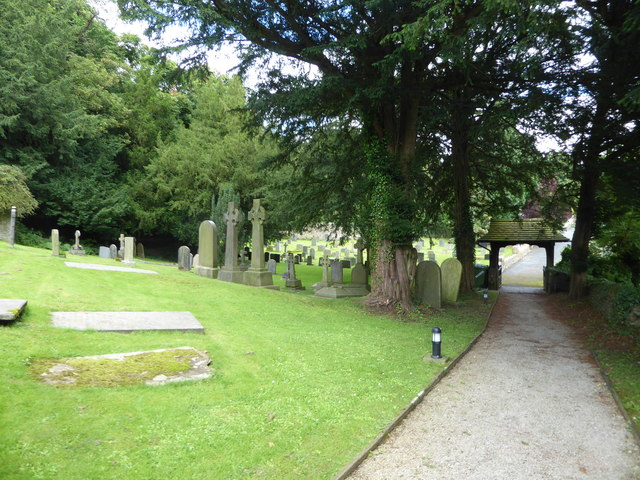 St Wilfrid, Halton: churchyard (5)