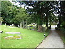 SD4964 : St Wilfrid, Halton: churchyard (5) by Basher Eyre