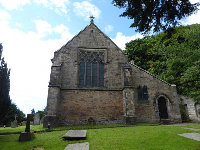 St Wilfrid, Halton: churchyard (6)