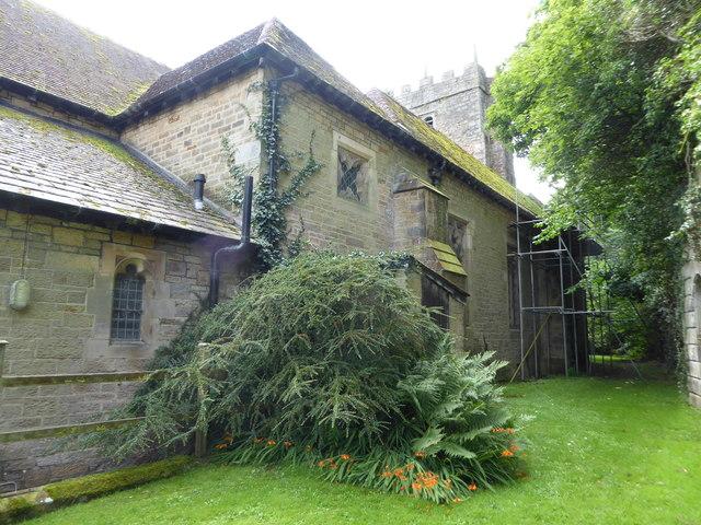 St Wilfrid, Halton: churchyard (7)