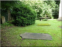 SD4964 : St Wilfrid, Halton: churchyard (9) by Basher Eyre