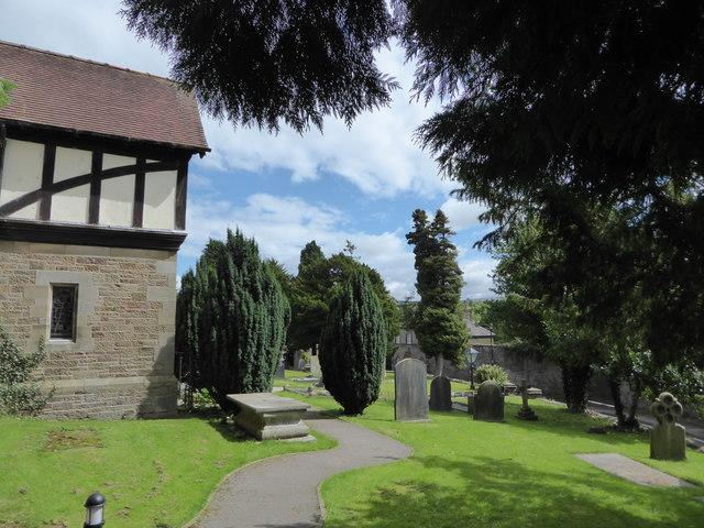 St Wilfrid, Halton: churchyard (10)