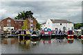 SO8171 : Stourport Upper Basin in Worcestershire : Week 34