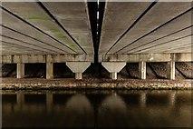 SJ7758 : M6 Motorway by Peter McDermott