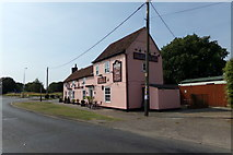 TM1227 : The Cross Public House, Horsley Cross by Geographer