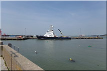 TM2532 : Harwich Harbour by Geographer