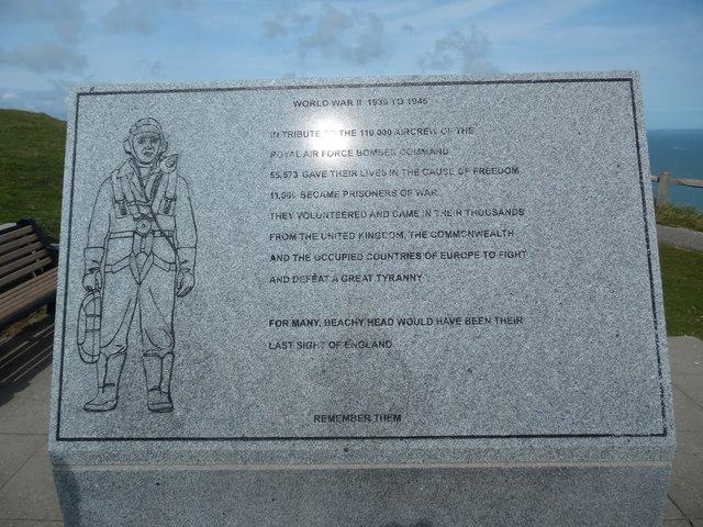 RAF Bomber Command Memorial, Beachy Head (2)