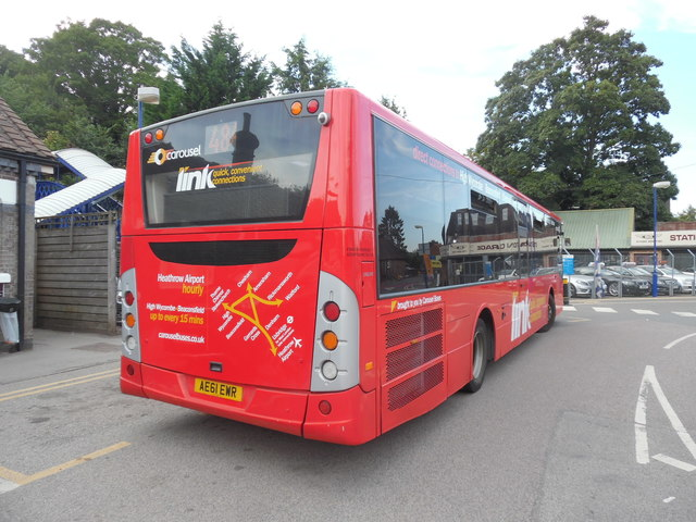 Last Route 48A Bus outside Great Missenden Station (2)