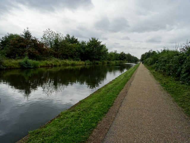 Bridgewater Canal and towpath near Timperley