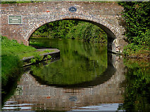 SO8689 : Hinksford Bridge south of Swindon in Staffordshire by Roger  Kidd