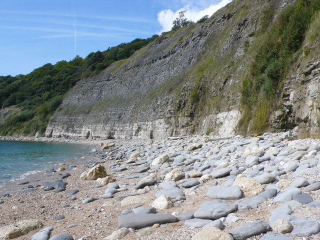 Pinhay Bay Cliffs