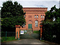 SO8689 : Pumping Station at Hinksford in Staffordshire by Roger  Kidd