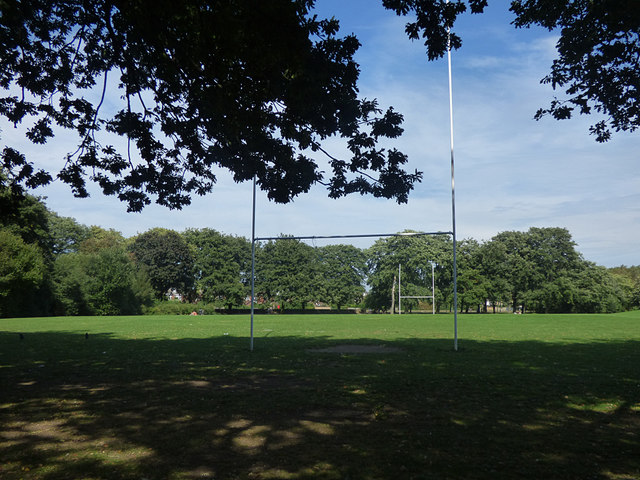 East Park - rugby pitch