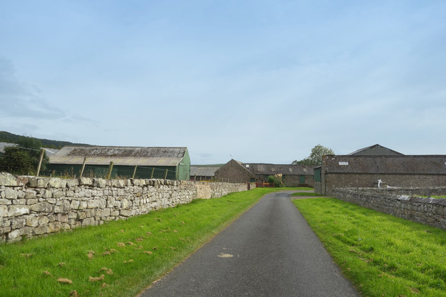 Road through Hepburn Farm