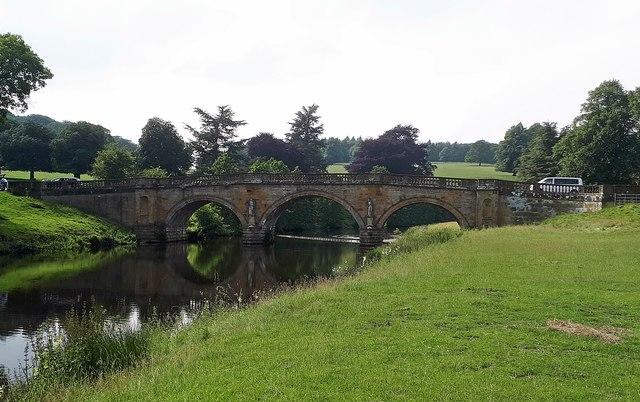 Chatsworth House-The Old Bridge