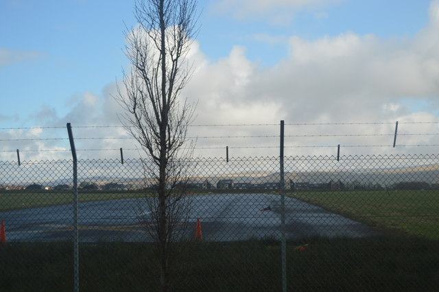 Runway, Former Plymouth City Airport