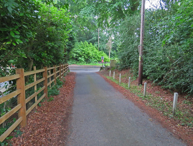 Nanhill Drive towards Brand Hill