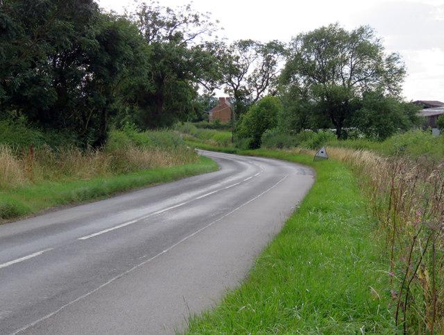 South Croxton Road westwards