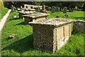 ST6601 : Tombs, Cerne Abbas by Derek Harper